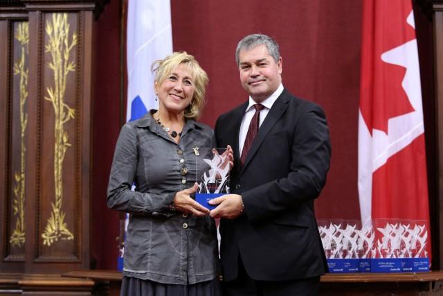 La présidente du Conseil de développement du sport de Gatineau,Louise Poirier,... (Courtoisie)