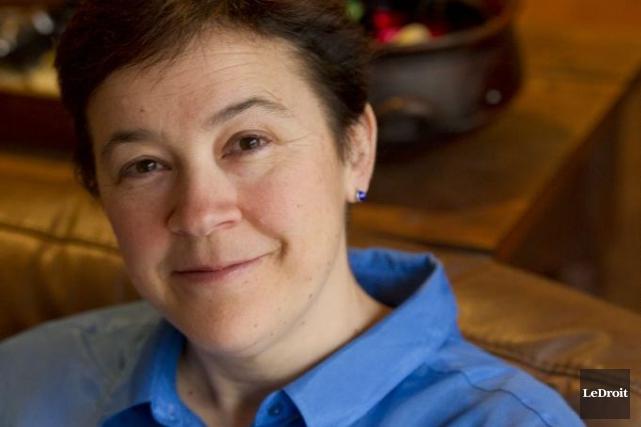 Andrée Poulin s'inquiète de voir les jeunes s'éloigner... (Martin Roy, LeDroit)