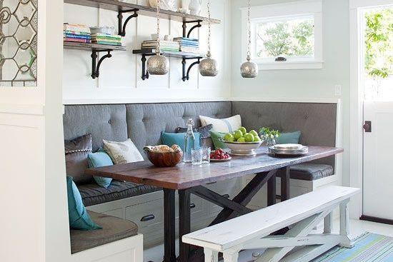 Les petites surfaces, les cuisines lilliputiennes, les mini salles de bains,... (Pinterest)