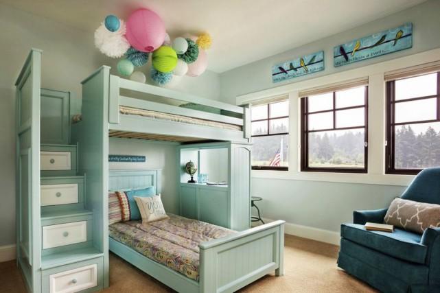 Les murs de cette chambre d'enfant sont faits... (Photo fournie par Blackstone Edge Studios)