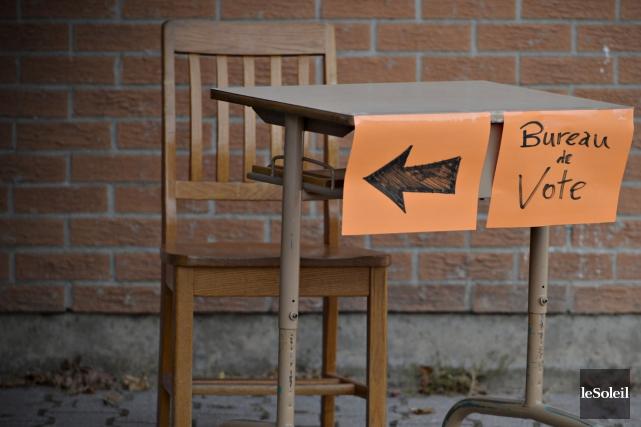Sans surprise, l'indifférence des électeurs a été la... (Le Soleil, Pascal Ratthé)