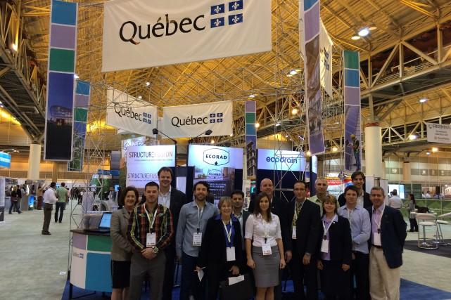 Le groupe Mission Québec est constitué d'une trentaine... (Courtoisie)