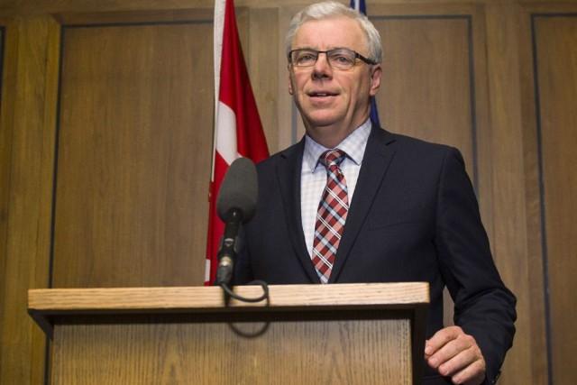 Les cinq ministres influents démissionnaires reprochent au premier... (Photo David Lipnowski, PC)