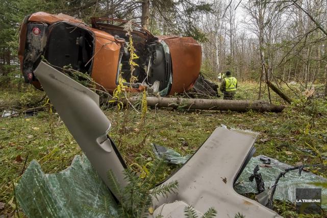 On connaît maintenant l'identité des deux jeunes victimesde l'accident survenu... (Imacom, Jocelyn Riendeau)