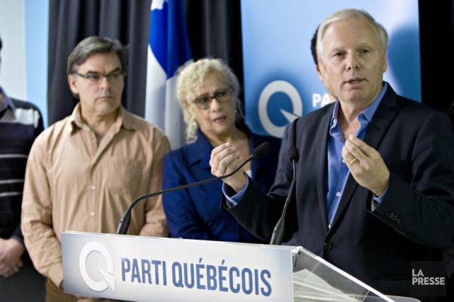 Jean-François Lisée, l'ancien ministre des Relations internationales au... (Photo Olivier Jean, La Presse)