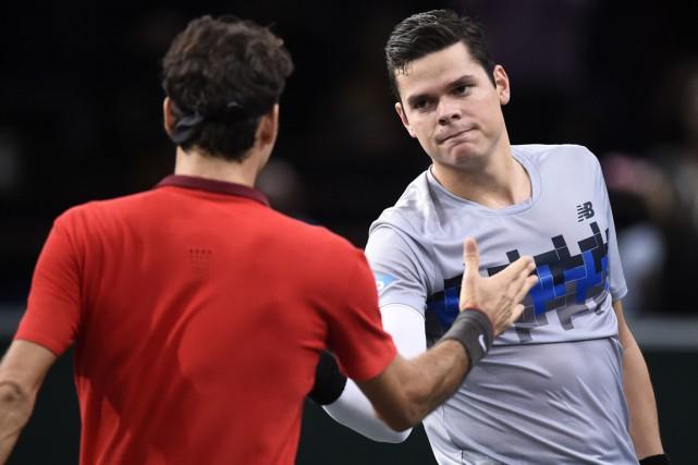 Milos Raonic sera dans le groupe deRoger Federer,... (Photo Franck Fife, AFP)