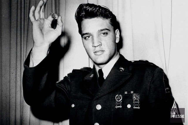 Elvis Presley... (PHOTO ARCHIVES REUTERS)