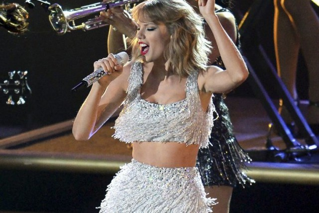 Taylor Swift en spectacle dans le cadre des... (Photo: archives AFP)