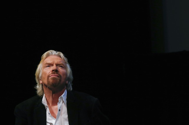 Richard Branson, patron de Virgin... (PHOTO SHANNON STAPLETON, REUTERS)