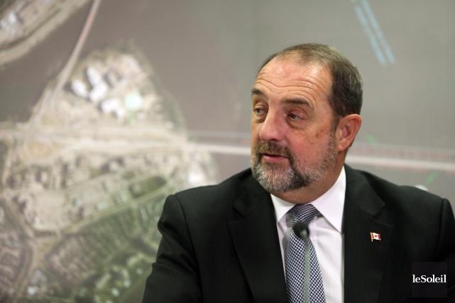 Le ministre Denis Lebel.... (Photothèque Le Soleil)