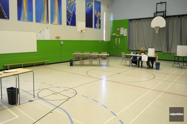 Encore une fois cette année, les électeurs ne... (Photo Gimmy Desbiens, Le Quotidien)