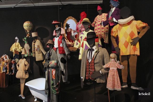 Vingt-quatre costumes sont déjà dans les réserves du... (Photothèque Le Soleil)