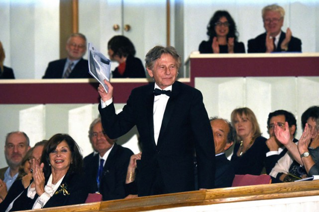 Roman Polanski a été applaudi lors d'un gala... (Photo: AFP)