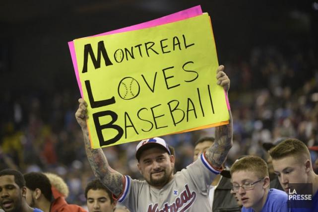Des gens d'affaires montréalais voulant ramener le baseball majeur à Montréal... (PHOTO BERNARD BRAULT, ARCHIVES LA PRESSE)