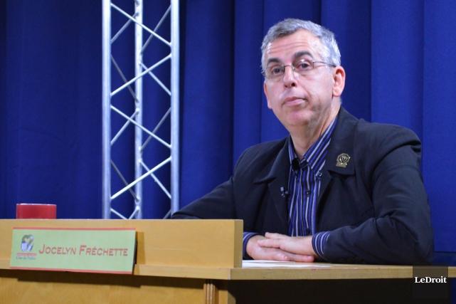 Le nouveau président de la CSCV, Jocelyn Fréchette.... (Benoit Sabourin, LeDroit)