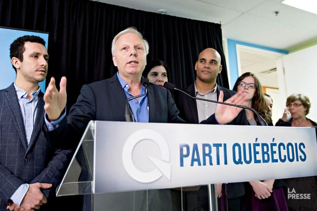 Jean-Francois Lisée, député de Rosemont, a annoncé lundi... (La Presse, Olivier Jean)