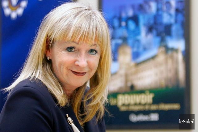 Marie Claire Ouellet remplace Françoise Mercure, nommée en... (Photothèque Le Soleil)