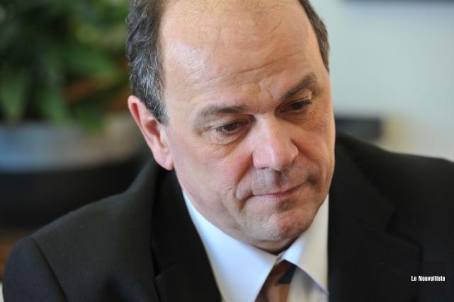 Benoît Gauthier avait été recruté en mars 2012... (Photo: Stéphane Lessard, Le Nouvelliste)