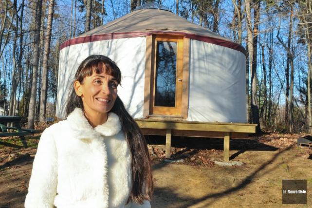 La directrice générale du Parc de l'Île-Melville, Marie-Louise... (Photo: Émilie O'Connor, Le Nouvelliste)