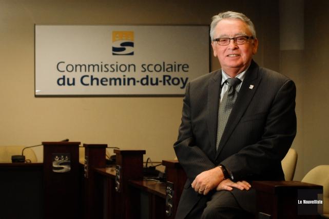 Le nouveau président de la Commission scolaire du... (Photo: François Gervais, Le Nouvelliste)