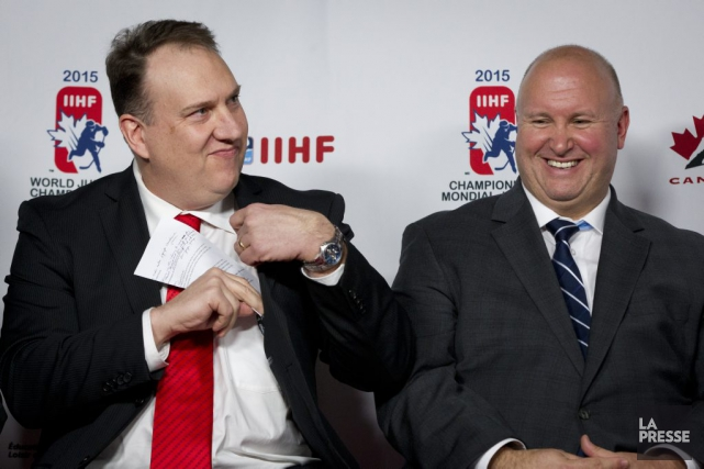 L'entraîneur-chef d'Équipe Canada Junior Benoît Groulx pose en... (Ivanoh Demers, La Presse)
