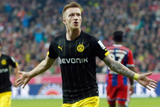 L'attaquant de Dortmund Marco Reus.... (Photo Michaela Rehle, Reuters)