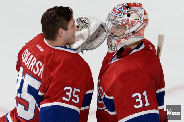 Carey Price (31) a rarement disputé deux matchs... (Photo Bernard Brault, La Presse)