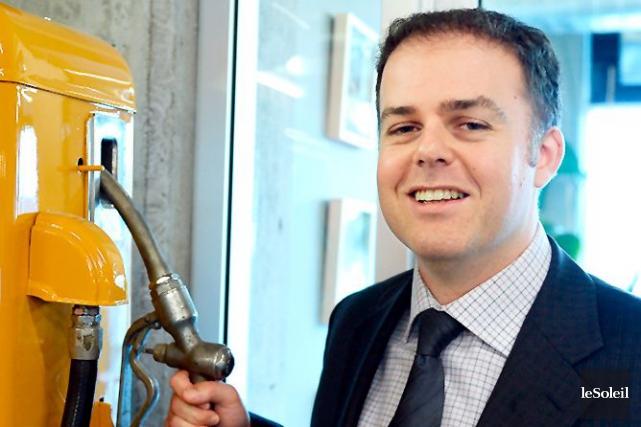 Le président-directeur général de la société pétrolière québécoise... (Photothèque Le Soleil, Erick Labbé)