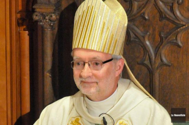 L'évêque du diocèse de Trois-Rivières, Mgr Luc Bouchard.... (Photo: Émilie O'Connor, Le Nouvelliste)