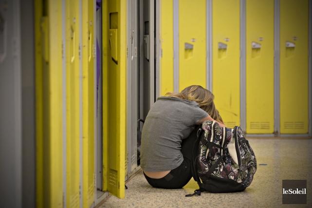 Deux nouveaux programmes de prévention contre la violence et l'intimidation ont... (Photothèque Le Soleil, Pascal Ratthé)