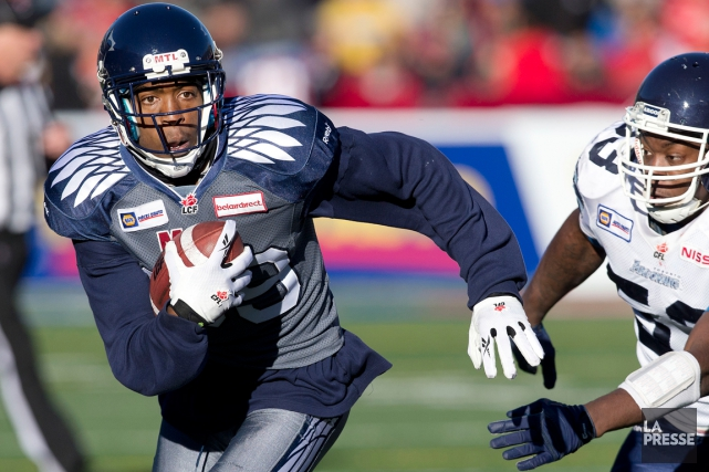 Duron Carter a capté 11 passes pour 181... (Photo Robert Skinner, La Presse)