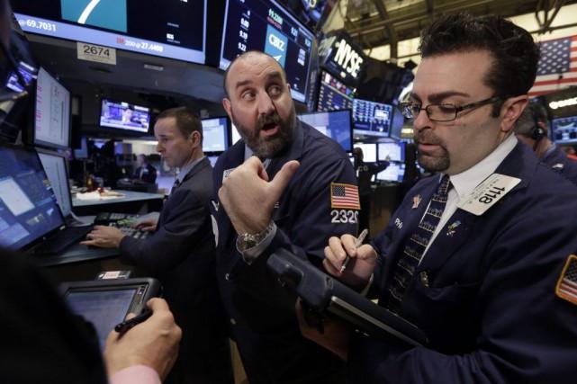 «Le marché américain s'est montré particulièrement solide ces... (Photo Richard Drew, AP)