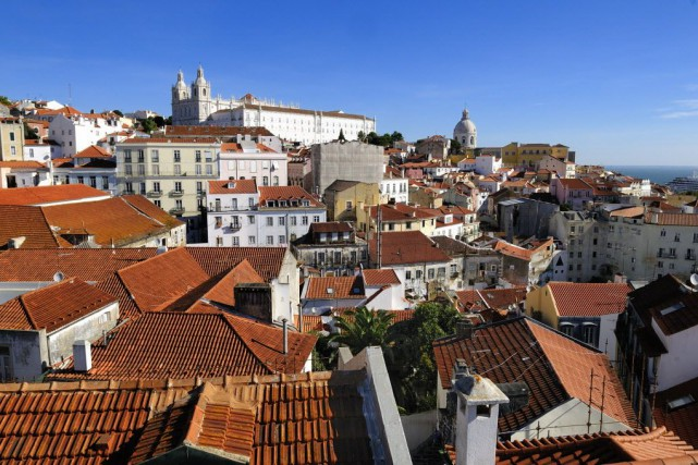 La ville de Lisbonne, au Portugal.... (Photo Digital/Thinkstock)