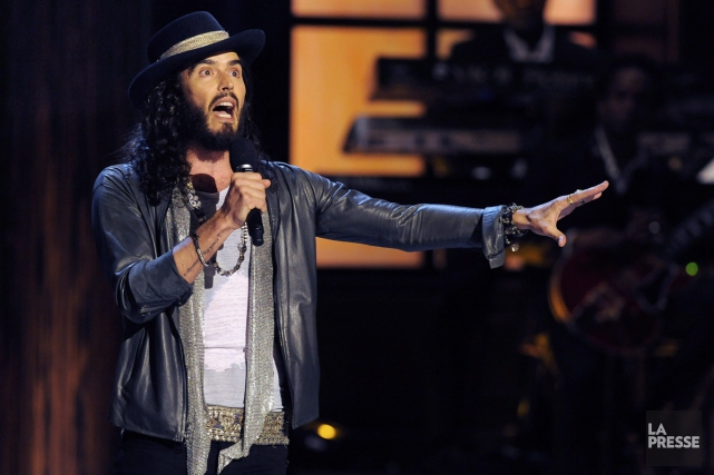 Russell Brand... (Photo: archives La Presse)
