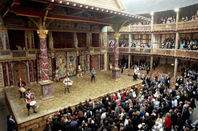 Le théâtre Shakespeare's Globe, à Londres... (Photo: AP)