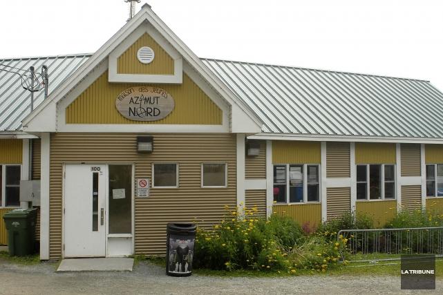 La maison des jeunes Azimut Nord, située à l'entrée du parc Jacques-Cartier,... (Archives La Tribune)