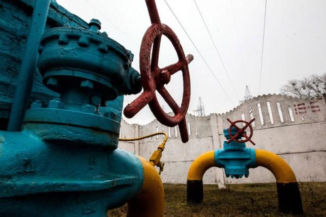 Kiev a annoncé mardi avoir payé au géant semi-public russe Gazprom 1,45... (Photo Archives AFP)
