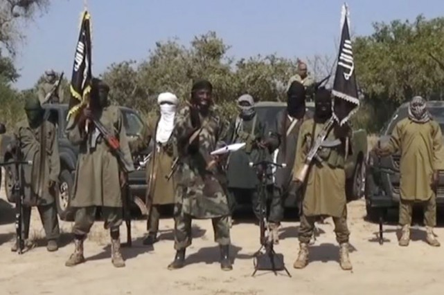 Le chef de Boko Haram, Abubakar Shekau, a... (IMAGE ARCHIVES AFP/BOKO HARAM)
