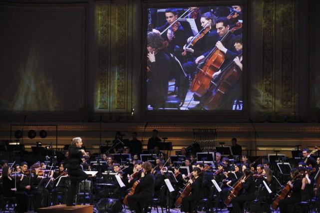 Le célèbre Carnegie Hall de New York, pour attirer davantage de spectateurs à... (Photo: archives AFP)