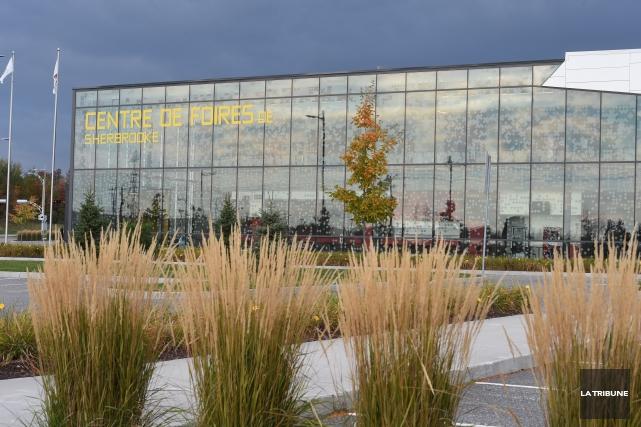Le Centre de foires de Sherbrooke servira aux... (Imacom, René Marquis)