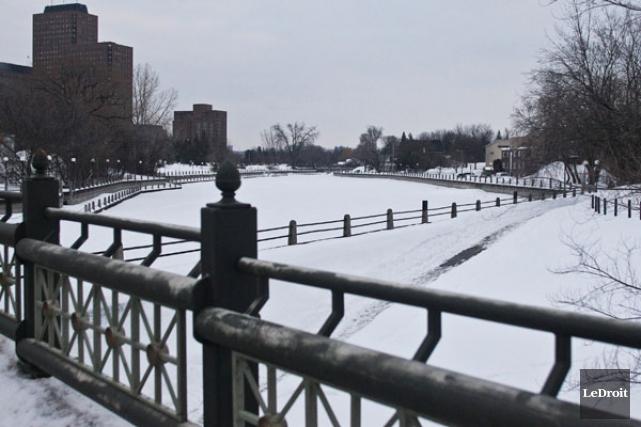 Que pensez-vous de l'idée de ramener une patinoire sur le ruisseau de la... (Patrick Woodbury, Archives LeDroit)