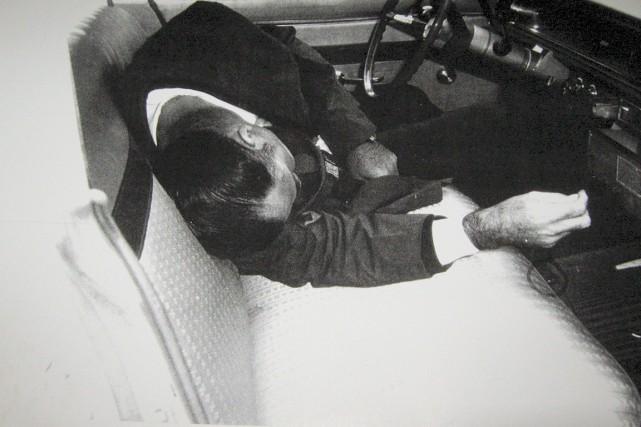 Le policier Louis-Georges Dupont a été trouvé mort... (Photo fournie par Jean-Pierre Corbin)