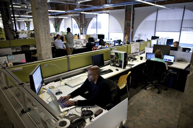 Les bureaux d'Autodesk à San Francisco.... (Photo archives Bloomberg)