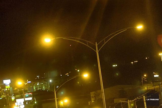 La Ville de Magog possède désormais une politique concernant l'éclairage des... (Archives La Tribune)
