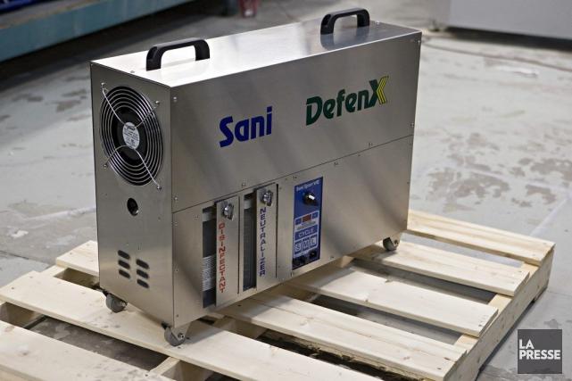Les stérilisateurs de Sani Sport et de Sani... (Photo Patrick Sanfacon, La Presse)