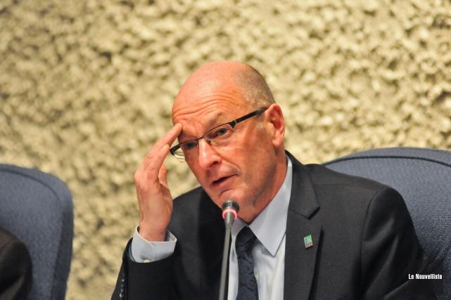 En raison du nouveau pacte fiscal, le maire... (Photo: Émilie O'Connor Le Nouvelliste)