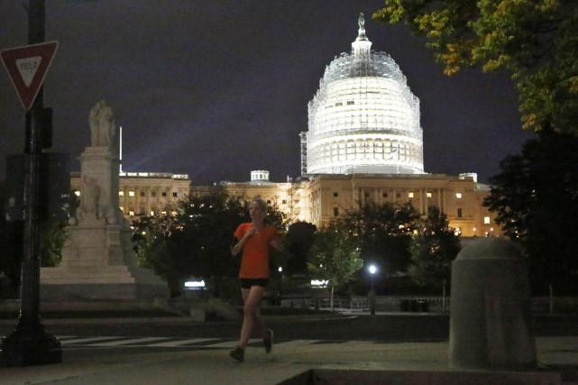 La Chambre des représentants américaine a adopté mardi à l'unanimité une... (PHOTO YURI GRIPAS, REUTERS)