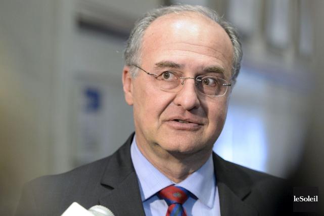 Le chef de l'opposition à l'hôtel de ville,... (Photothèque Le Soleil, Pascal Ratthé)