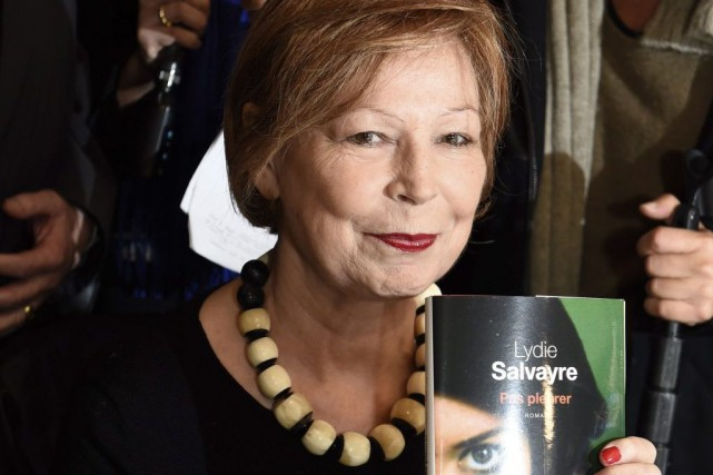 Lydie Salvayre... (Photo: AFP)