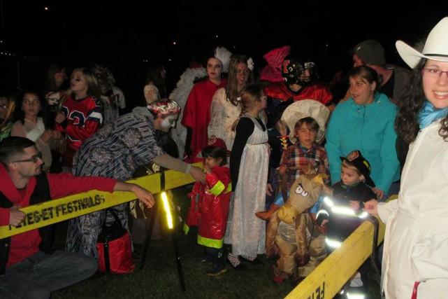 La quatrième mouture d'Halloween au village, tenue sous le pont Brady, dans le... (Facebook)